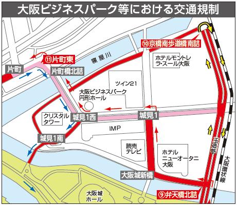 大阪国際女子マラソン規制3