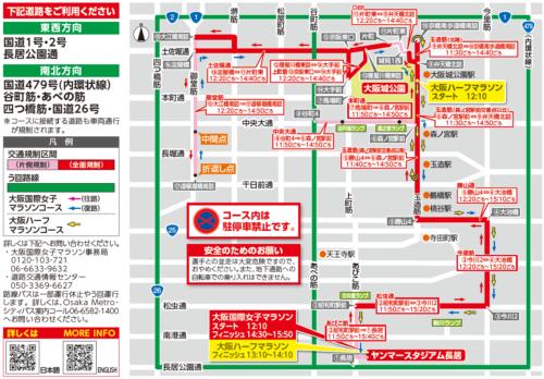大阪国際女子マラソン規制1